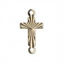 Apprêt plaqué or forme croix